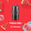 RELX Pods Fresh Red (Watermelon) Pack of 3 pieces