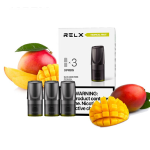 Relx Pods Tropical Fruit (Mango) – Pack of 3 pieces