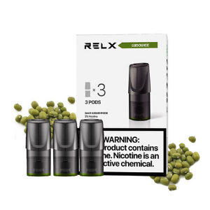 RELX Pods Ludou Ice (Mung Bean) Pack of 3 pieces