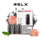 RELX Pods Fruit Tea (Peach Oolong) Pack of 3 pieces
