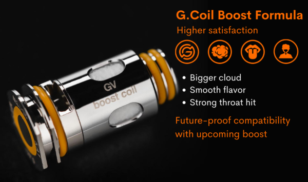 Geekvape Aegis Boost Coil 0.4Ω or 0.6Ω Replacement Pack of 5 pieces