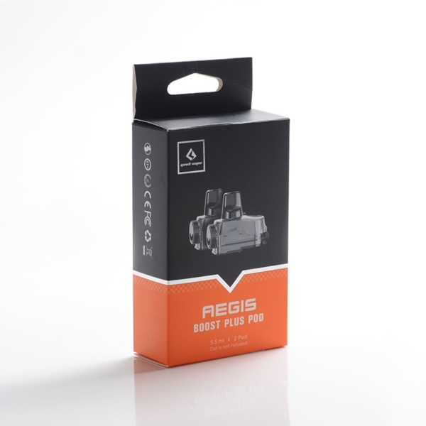 Geekvape Aegis Boost Plus Replacement Pods (Without Coil)