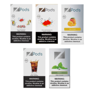 Ziip Pods Packs of 4