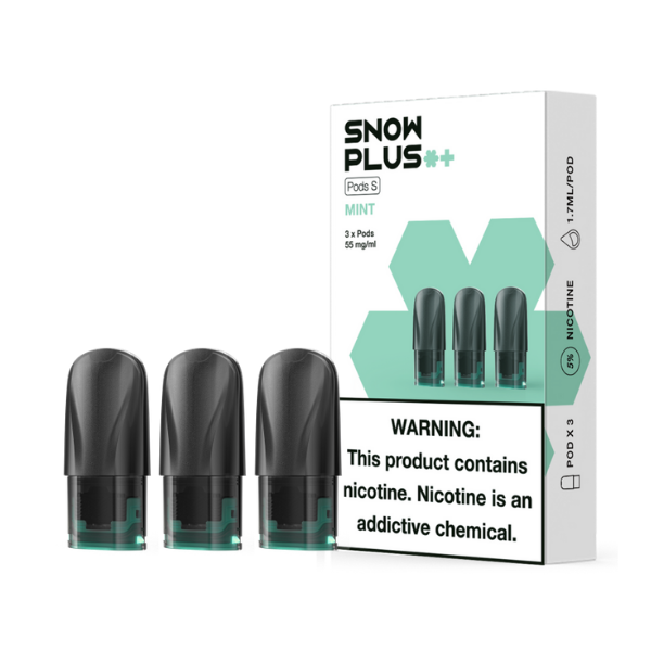 Snowplus Pods Mint 5% -Pack of 3