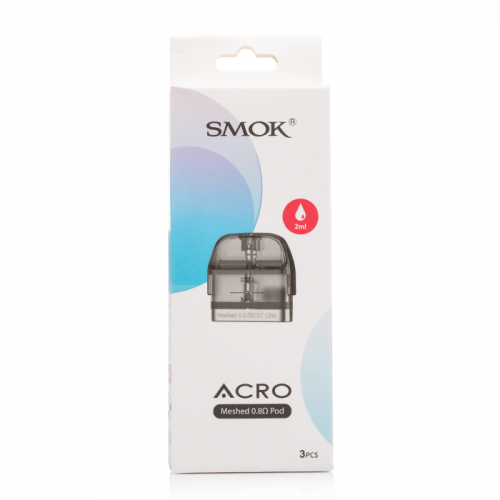 Smok Acro Pod Replacement Meshed 0.8Ω - Pack of 3